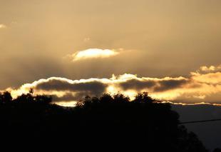 Ciel Bonnemaison 14260 Coucher de soleil