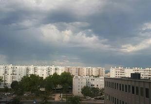 Orage Lyon Lyon au matin