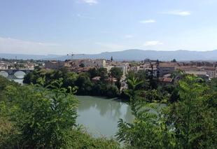 Chaleur Romans-sur-Isere 26100 Panoramique de l'Isère