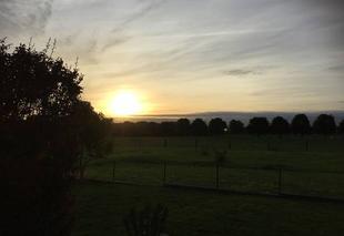 Ciel Argancy 57640 Levé de soleil sur Argancy