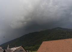 Orage Saint-Pierre-d'Entremont 73670 Orage entre Isère et Savoie