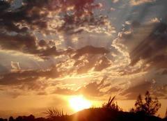 Ciel Clairac 47320 Coucher de soleil