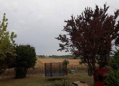 Orage Mirambeau 17150 Mirambeau a l approche de l orage