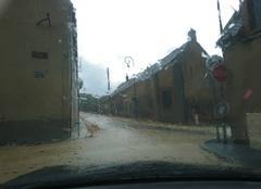 Pluie Champigny 89340 Saturation des eaux pluviales