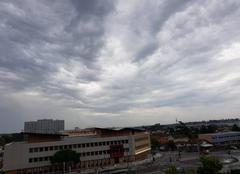 Ciel Lormont 33310 Après l'orage