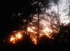 Ciel Saran 45770 Coucher de soleil