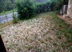 Pluie Illats 33720 Grêle à Illats