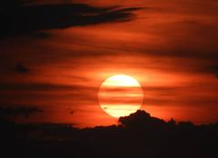 Ciel Perl Couché du soleil à Oberperl