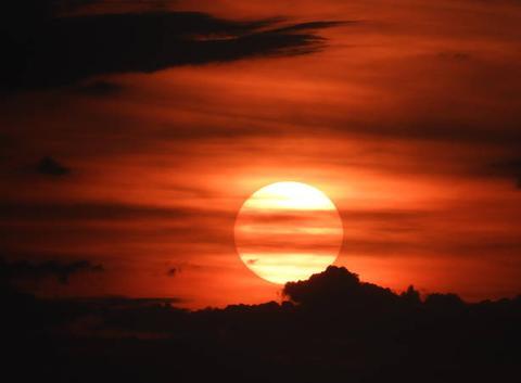 Couché du soleil à Oberperl