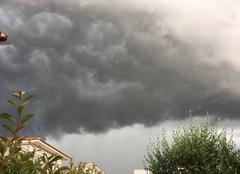 Nuages Le Cres 34920 Drôle de nuage....