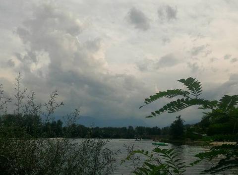 Arrivée prévue de l'orage