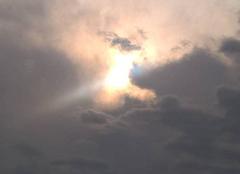 Orage Itteville 91760 Soleil entre deux orages
