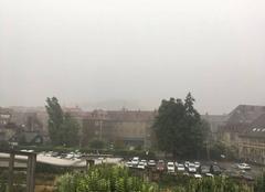 Pluie Besançon 25000 Tempête à Besancon