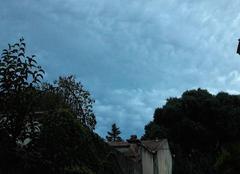 Nuages Montpellier 34000 Ciel pommelé