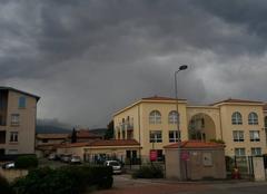 Orage Mornant 69440 Temps d'orages à Mornant (69)