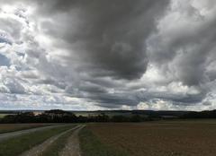 Ciel Themericourt 95450 La route des nuages au Vexin
