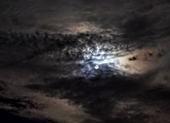 Ciel Jeanmenil 88700 Lever de lune après un orage