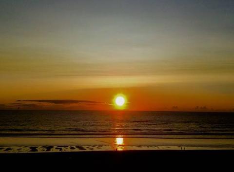Encore un joli coucher de soleil