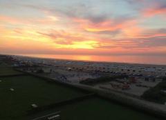 Ciel Calais 62100 Coucher de soleil