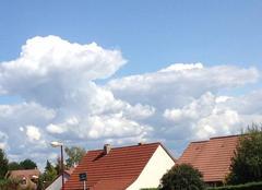 Nuages La Chapelle-Saint-Ursin 18570 Gros nuages