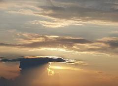 Ciel Larzicourt 51290 Magie opérée par ce coucher de soleil estivale