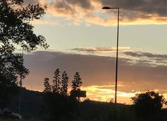 Ciel Chasse-sur-Rhone 38670 Coucher de soleil