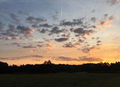 Ciel Conde-sur-Vesgre 78113 Lever de soleil
