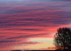Ciel Mazamet 81200 Lever de soleil