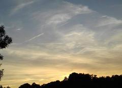 Ciel Caylus 82160 Soleil au couchant