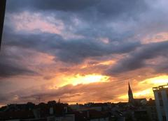 Ciel Reims 51100 Reims ciel d'août
