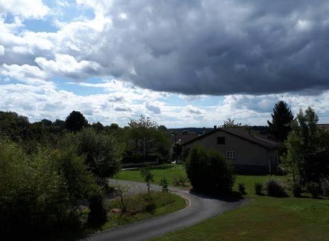 Mâtinée nuageuse à Grosmagny