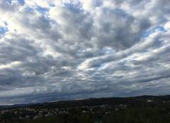 Ciel Ternay 69360 Couverture de nuages