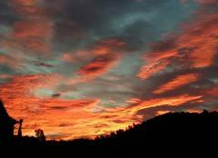 Ciel Les Vans 07140 Tres beau ciel