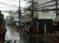 Orage Bangkok BANGKOK sous l'orage