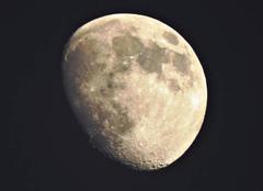 Ciel Nogaret 31540 Vue sur la lune.