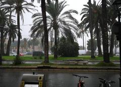Pluie Palma 07001 Pluies torrentielle a palma