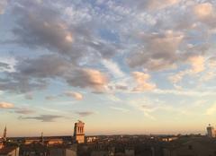 Nuages Nîmes 30000 Soir d été