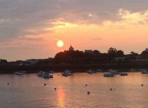Lever de soleil sur La Chapelle sainte Barbe