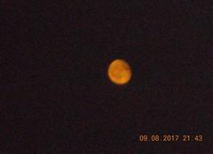 Ciel Lavernose-Lacasse 31410 Eclipse de lune