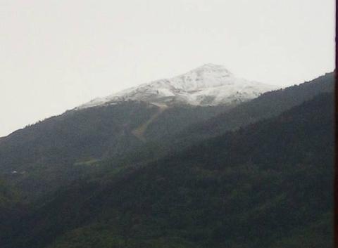 Neige à 2000m