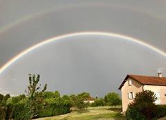 Ciel Saint-Gence 87510 Double arc-en-ciel
