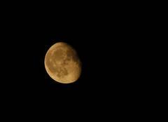 Ciel Ronchin 59790 La lune à Ronchin