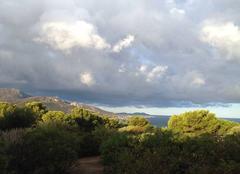 Ciel Corbara 20220 Orages sur la Balagne