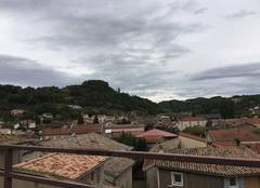 Nuages Saint-Donat-sur-l'Herbasse 26260 Panoramique sous ciel couvert