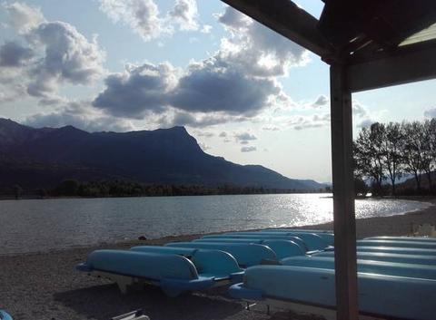 Fin de journée sur le lac....