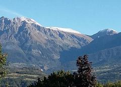 Neige Savines-le-Lac 05160 Première neige