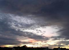 Ciel Le Perreux-sur-Marne 94170 Suite du coucher de soleil ...