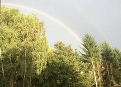 Ciel Forbach 57600 Arc en ciel sur Bellevue