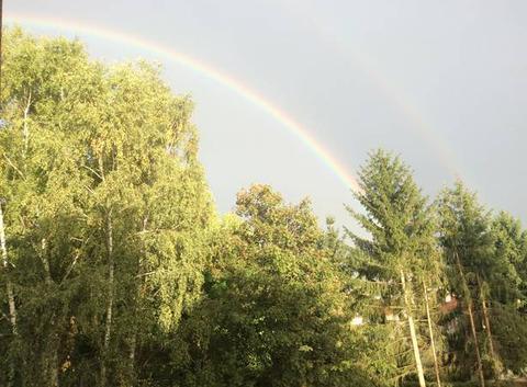 Arc en ciel sur Bellevue