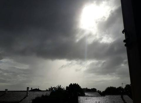 Soleil vraiment caché
